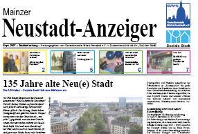 Klicken Sie hier und lesen Sie die September-Ausgabe des Neustadt-Anzeigers